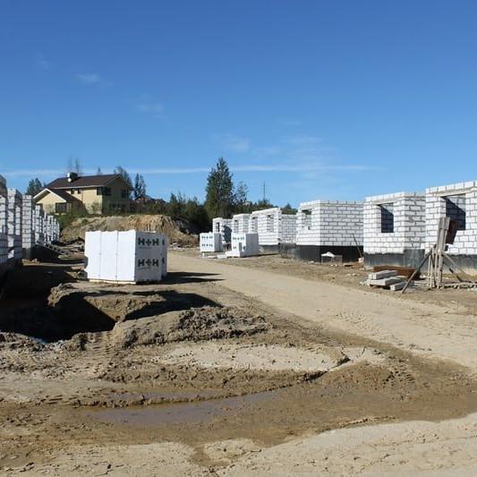 Строительство жилого комплекса Альпийская деревня