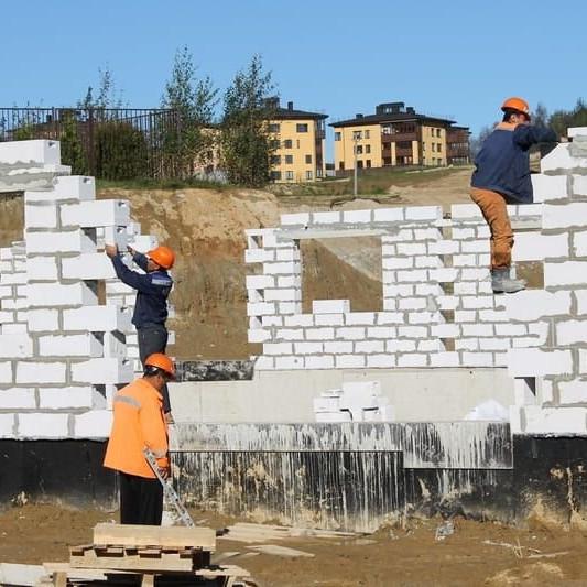 Строительство жк Альпийская деревня