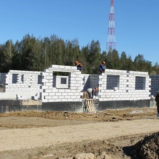 Ход строительства жилого комплекса Альпийская деревня