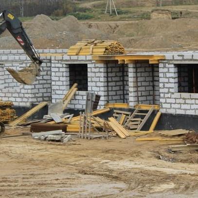 ЖК Альпийская деревня ход строительства