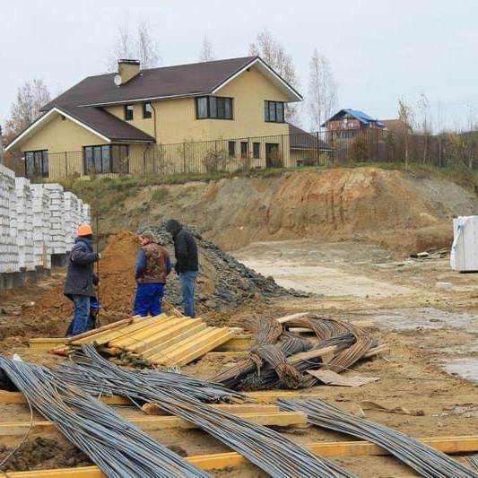 Жилой комплекс Альпийская деревня ход строительства