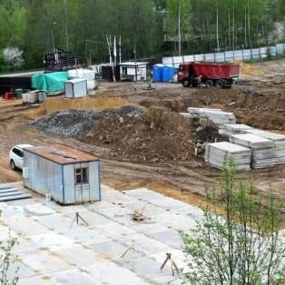 Строительные работы в ЖК Альпийская деревня СПб